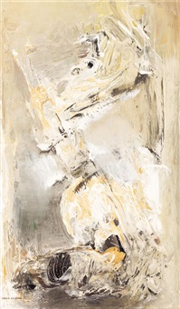 abstract composition by margaret (margo) hetty lewers