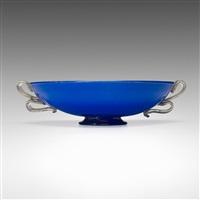 incamiciato bowl by barovier seguso & ferro murano