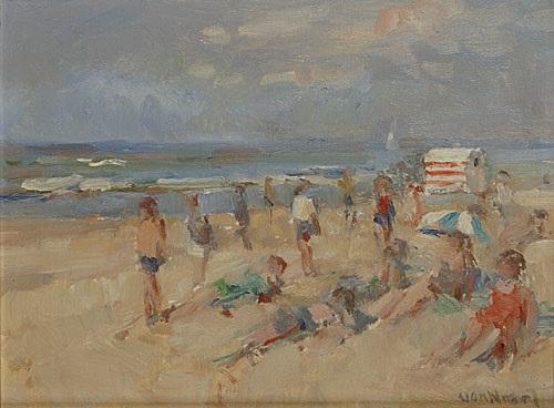 zandvoort holland by arie van noort