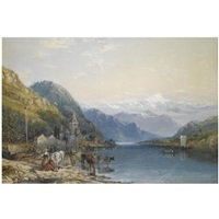 italian lakes by william collingwood smith