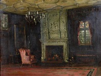 the fireside chair by vernon ward