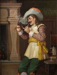 a quiet smoke by edgar bundy