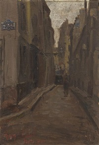16 rue st. etienne du mont by henry salem hubbell