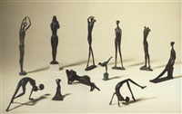 eleven figures by pieter van heerden