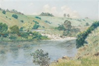 umgeni river, upstream from the howick falls by cathcart william methven