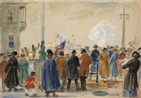 le départ by gifford beal