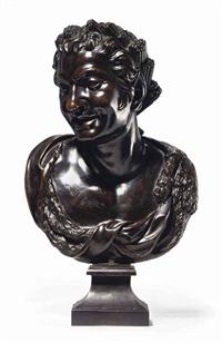 bust of bacchus by massimiliano (benzi) soldani