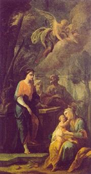 maria und die mutter anna mit dem jesusknaben by bartholomäus altomonte