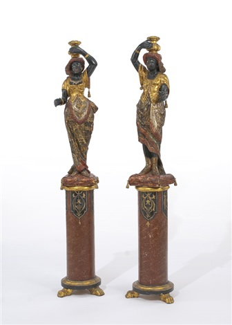 moretti pair by italian school venetian 19