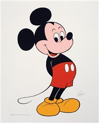 mickey mouse by louis lispi