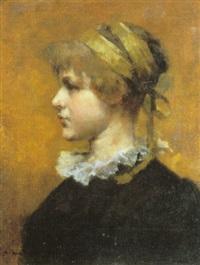retrato de joven by sydney harold meteyard