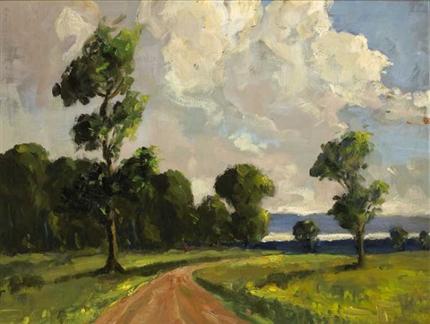 a road to lough neagh by william jackson