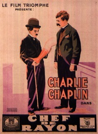 chef de rayon/ the floorwalker- charlie chaplin by posters: movie