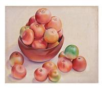 bodegón con frutas by francisco dosamantes