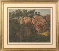 gravel hill rocks, above milford, n.j. by augustus kollner