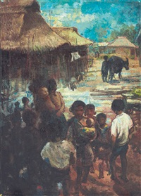 children in the village by itji tarmizi