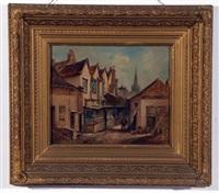 the waker palace inn, norwich by arthur edward davies