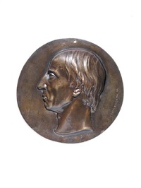 william wordsworth medallion by thomas woolner