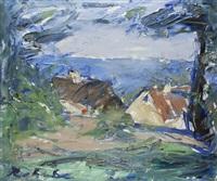 expressionistische landschaft by borge bokkenheuser