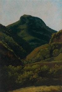 paysage aux collines by jean charles joseph remond