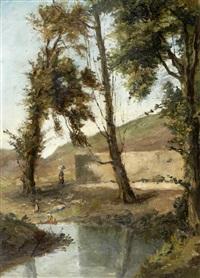 paisagem com rio by alfredo keil