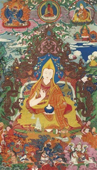 the third panchen lama (important group of 9 works) by anonymous-tibetan (18)