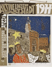kalender aktive linzer altstadt by josef fischnaller