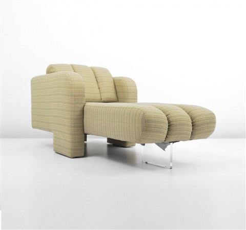 chaise lounge chair by vladimir kagan