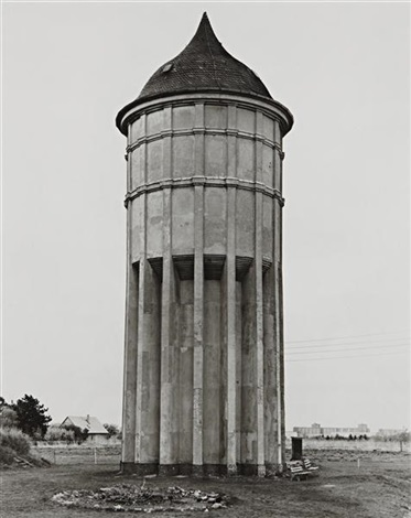 water tower, leipzig by bernd and hilla becher