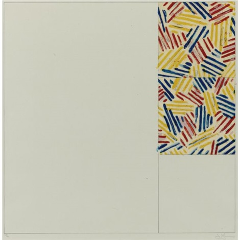 5 after untitled 1975 by jasper johns