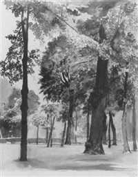 im schönbrunner schloßpark by jakob demus