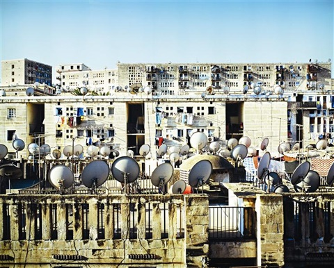 satellite dishes by kader attia