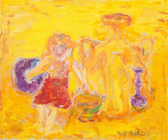 still life in yellow by rafael wardi