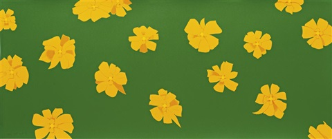 marigold by alex katz