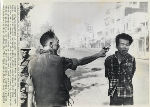 execution of a viet cong officer by eddie adams
