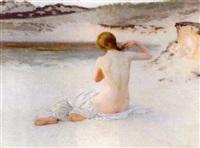 A summer evening, 1898–1898