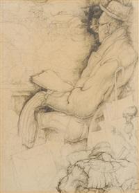 auto-portrait by jules de bruycker