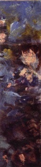 fragment de nymphéas by claude monet