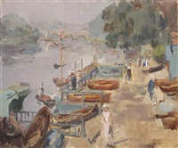 the thames near richmond by isaac israels
