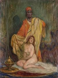 präsentation einer haremsdame by geza udvary