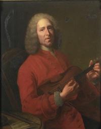 portrait de jean-philippe rameau by jacques andré joseph aved