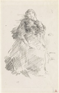 la belle dame paresseuse by james abbott mcneill whistler
