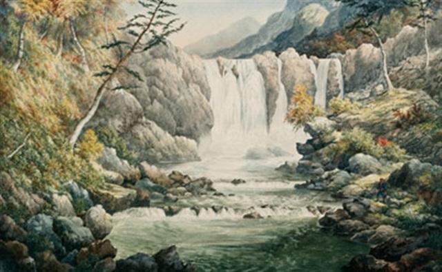pettiowaia creek bonnechere river by alfred worsley holdstock