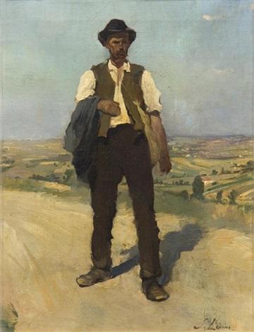man in the road by stanislas lépine