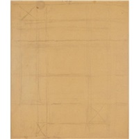classic drawing #9 by piet mondrian