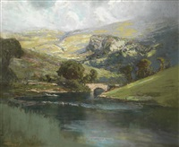 the borrowdale valley, westmoreland by robert gwelo goodman