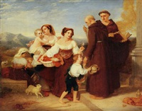 the salutation to the aged friar by sir charles lock eastlake