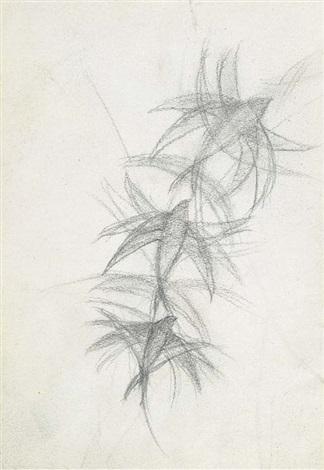 Studio Per Volo Di Rondini On Notebook Sheet By Giacomo Balla On Artnet