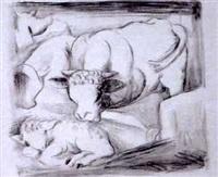 kühe im stall by hannes grosse