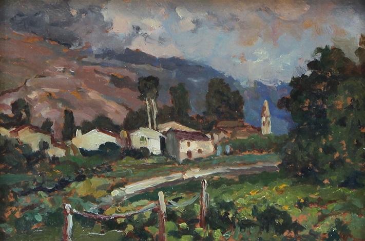 paesaggio by angiola meucci